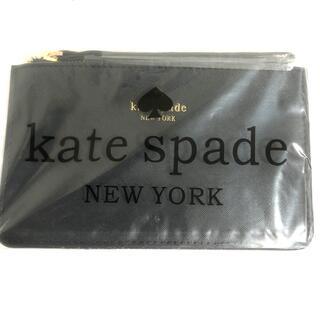 kate spade new york - ケイトスペード マルチポーチ ブラック 黒 化粧品 カード入れ
