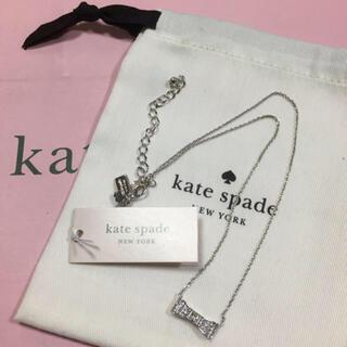 ケイトスペードニューヨーク(kate spade new york)のケイトスペード リボン型ネックレス(ネックレス)