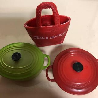DEAN & DELUCA - キッチンマグネット ル・クルーゼ DEAN &DELUCA 3個セット