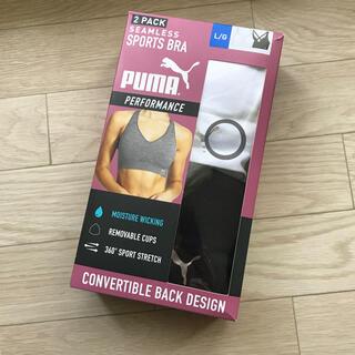 PUMA - PUMAスポーツブラ2色新品L2枚ジムヨガウエア