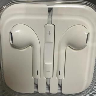 iPhone - iPhone6s純正イヤホン 新品、未使用、未開封