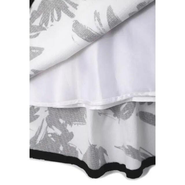 ADORE(アドーア)のご専用のADOREモノトーンフラワースカート✨ レディースのスカート(ひざ丈スカート)の商品写真
