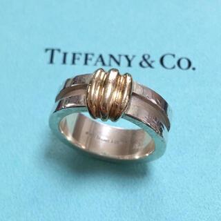 Tiffany & Co. - ティファニー ヴィンテージ リング シルバー ゴールド 指輪
