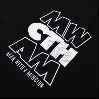 マンウィズアミッション(MAN WITH A MISSION)のMAN WITH A MISSION CTHツアーTシャツ Mサイズ(ミュージシャン)