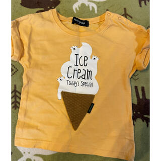 クレードスコープ(kladskap)のTシャツ  90cm(Tシャツ/カットソー)