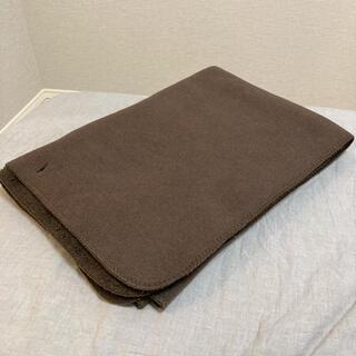 MUJI (無印良品) - 無印良品 羽織れるブランケット