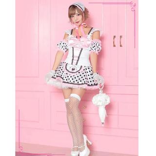 【値下げ】メイド コスプレ カフェ店員(衣装一式)