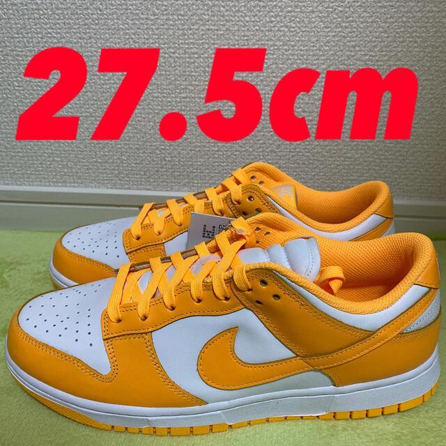 NIKE(ナイキ)のNIKE WMNS DUNK LOW  27.5cm レーザーオレンジ メンズの靴/シューズ(スニーカー)の商品写真