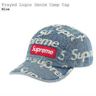 Supreme - supreme Frayed Logos Denim Camp Cap