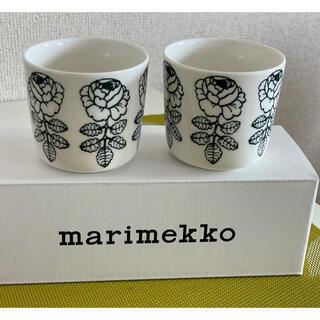 marimekko - 【新品】マリメッコ ヴィヒキルース ラテマグ  マグ ダークグリーン 日本限定