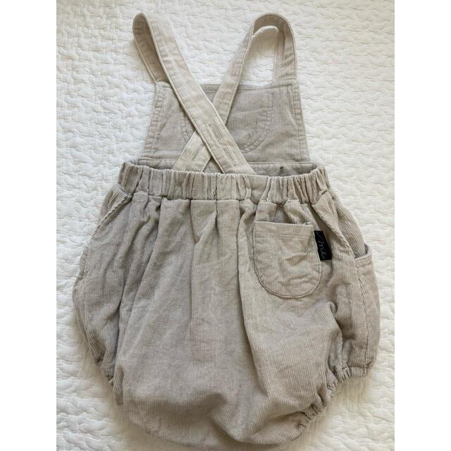 futafuta(フタフタ)のサロペット ロンパース 80 キッズ/ベビー/マタニティのベビー服(~85cm)(ロンパース)の商品写真
