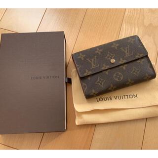 LOUIS VUITTON - ルイヴィトン モノグラム 三つ折り財布