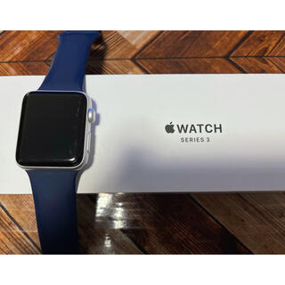Apple Watch - Apple Watch3 42mm GPS シルバーアルミニュウム