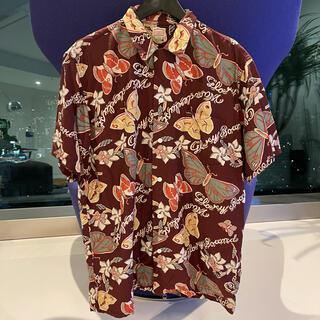 クーティー(COOTIE)のCOOTIE クーティー バタフライシャツ 半袖シャツ Tシャツ 帽子 キャップ(シャツ)