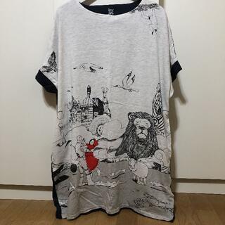 グラニフ(Design Tshirts Store graniph)の松本大洋 グラニフ コラボワンピ(ひざ丈ワンピース)