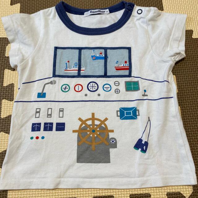 familiar(ファミリア)のファミリア familiar 90 キッズ/ベビー/マタニティのキッズ服男の子用(90cm~)(Tシャツ/カットソー)の商品写真