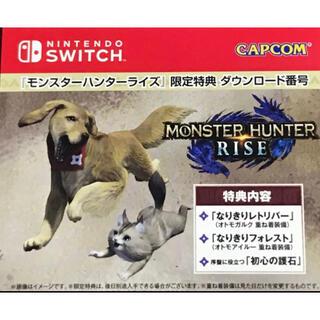 Nintendo Switch - switch モンスターハンターライズ 限定特典 ニンテンドースイッチ