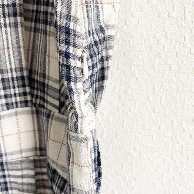 Kastane(カスタネ)のほぼ未使用☆美品 ワンピース チェック 半袖 白 黒 select moca レディースのワンピース(ロングワンピース/マキシワンピース)の商品写真