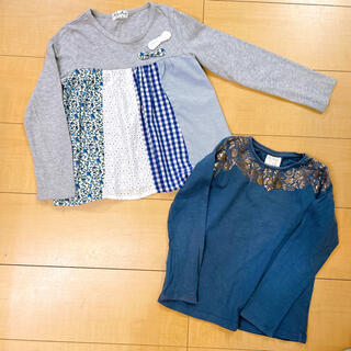 MIALY MAIL - 2点セット 110cm 長袖カットソー ロンT ミアリーメール ZARA