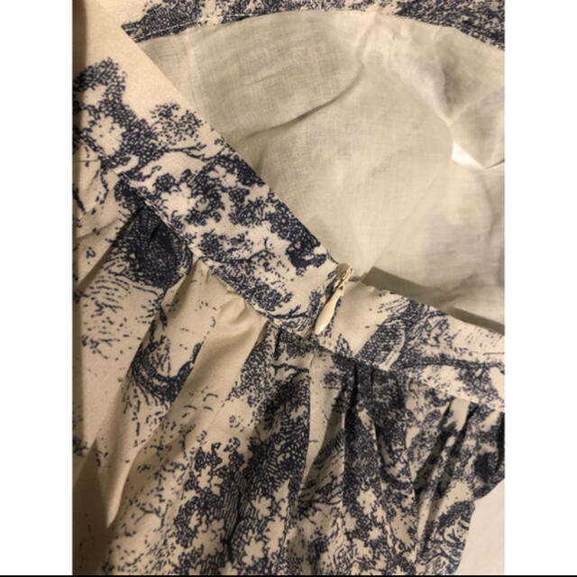 Christian Dior(クリスチャンディオール)のMサイズ ヨウコ様専用 アニマル柄 トワルドゥジュイ ロングスカート レディースのスカート(ロングスカート)の商品写真