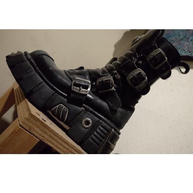 レア New Rock 2点セット  レディースの靴/シューズ(ブーツ)の商品写真