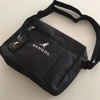 KANGOL - カンゴール  ショルダーバッグ ブラック