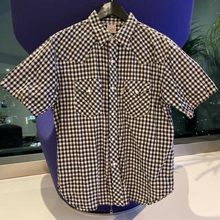 クーティー(COOTIE)のCOOTIE クーティー ギンガムチェックシャツ Tシャツ 帽子 美品キャップ(シャツ)