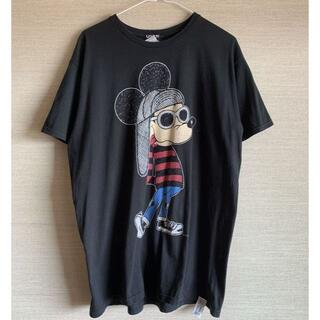 オーバーザストライプス(OVER THE STRIPES)のオーバーザストライプス×カートコバーン×Disney コラボ ミッキーTシャツ(Tシャツ/カットソー(半袖/袖なし))