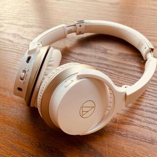 オーディオテクニカ(audio-technica)の美品!audio technica ワイヤレスヘッドホン ATH-AR3BT (ヘッドフォン/イヤフォン)