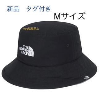 THE NORTH FACE - 新品タグ付 Mサイズ ノースフェイス  コットンバケットハット 刺繍ロゴ 黒