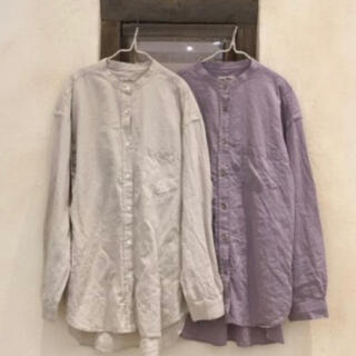 nest Robe - ネストローブ ペーパーダンガリーシャツ