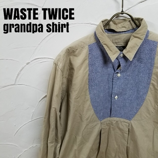 ウェストトゥワイス(Waste(twice))のWASTE TWICE/ウエスト トゥワイス グランパ シャツ (シャツ)