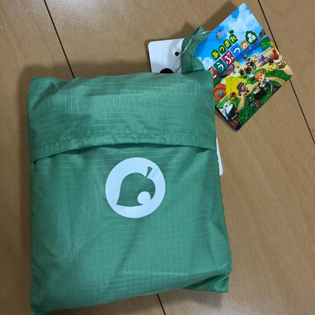 UNIQLO(ユニクロ)のユニクロ×あつ森 エコバッグ  グリーン レディースのバッグ(エコバッグ)の商品写真