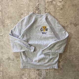 Champion - 【希少】90s チャンピオン リバースウィーブ カレッジロゴ 霜降り 刺繍