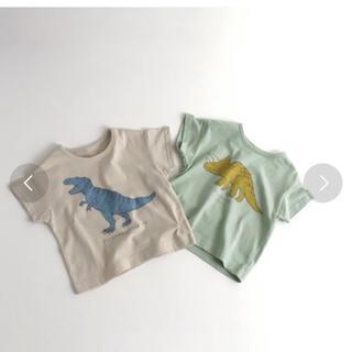 BREEZE - ☆新品 アプレレクール 恐竜 Tシャツ プティマイン ブリーズ☆