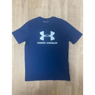 UNDER ARMOUR - under armour Tシャツ ネイビー Lサイズ