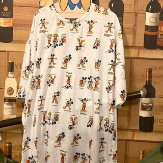 ディズニー(Disney)のミッキー総柄 Tシャツ(Tシャツ(半袖/袖なし))