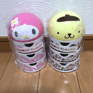 サンリオ - ♡マイメロ&ポムポムプリン♡小物入れ2点セット♪