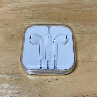 iPhone - 新品未使用 純正品 iPhone イヤホン イヤフォン