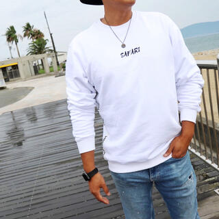 ロンハーマン(Ron Herman)の春の人気アイテム☆LUSSO SURF テープ刺繍スウェット Lサイズ RVCA(スウェット)