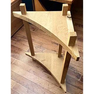 飛騨産業キツツキの家具☆端材で作られたコーナーラック