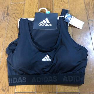 アディダス(adidas)のアディダス スポーツブラ adidas   ショーツの2点セット(ブラ&ショーツセット)