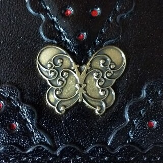 ANNA SUI - アナスイ 三つ折財布
