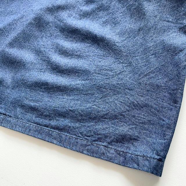45rpm(フォーティーファイブアールピーエム)の美品 パラスパレス インディゴ染めスキッパーワンピース サイズF ゆったり レディースのワンピース(ロングワンピース/マキシワンピース)の商品写真