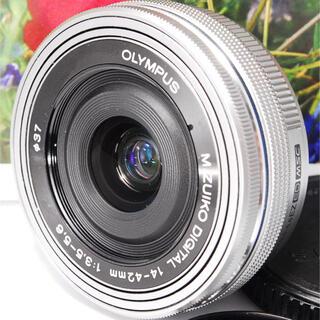 オリンパス(OLYMPUS)の❤️高機能・高画質の電動ズーム❤️オリンパス 14-42mm EZ レンズ❤️(レンズ(ズーム))