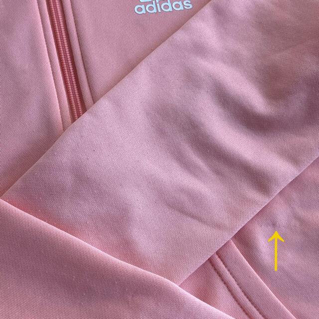 adidas(アディダス)のadidas アディダス トレーニングウェア上下 140 キッズ/ベビー/マタニティのキッズ服女の子用(90cm~)(その他)の商品写真