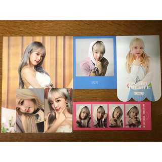 IZ*ONE 6点セット イェナ + ポストカード 2枚セット(K-POP/アジア)