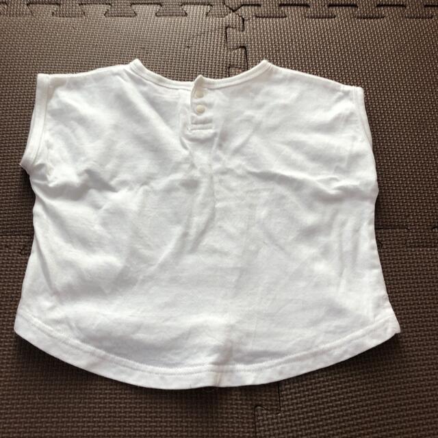 petit main(プティマイン)のプティマイン  半袖Tシャツ 80㎝ キッズ/ベビー/マタニティのベビー服(~85cm)(Tシャツ)の商品写真