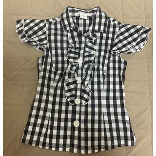 ナラカミーチェ(NARACAMICIE)のナラカミーチェ ギンガムチェック シャツ(シャツ/ブラウス(半袖/袖なし))
