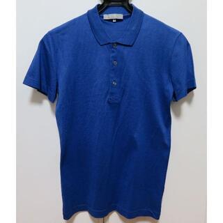 ユナイテッドアローズ(UNITED ARROWS)の■新品【ユナイテッドアローズ】極上イタリア製ポロシャツ ブルー S ARROWS(ポロシャツ)